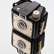 Kodak Brownie Bullet Camera Mirror Image Art Print