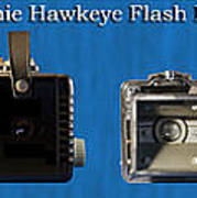 Kodak Brownie Hawkeye Camera Art Print