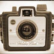 Kodak Brownie Holiday Flash Art Print