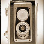 Kodak Duaflex Iv Camera Art Print