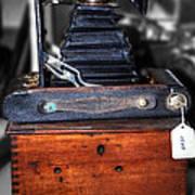 Kodak Folding Autographic Brownie 2-a Art Print by Kaye Menner