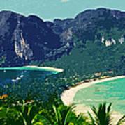 Koh Phi Phi ... Art Print