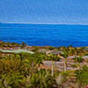 Kohala Coast Panorama Art Print