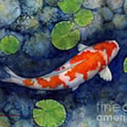 Koi Pond Art Print
