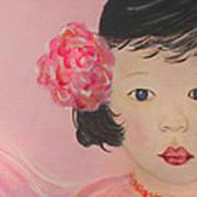 Kokoa Little Angel For Love Of The Heart Art Print