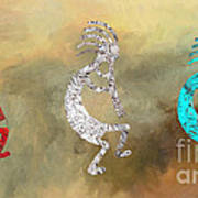 Kokopellis Art Print by GCannon