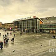 Koln Hauptbahnhof  Art Print