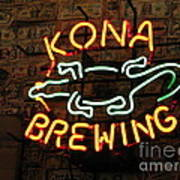 Kona Brewing Company Art Print