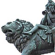 Konzerthaus Berlin - Lion Sculpture  Art Print