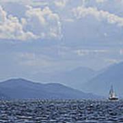 Kootenay Sail Art Print