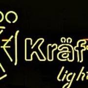 Kraftig Light 1 Art Print