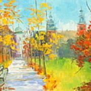 Krakow - Autumn Art Print