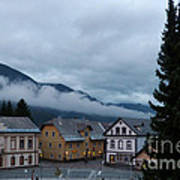 Kranjska Gora - Autumnal Evening Art Print