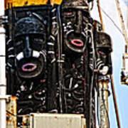 Kri Dewaruci Ops Sail 2012 Art Print