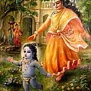 Krishna Damodara Art Print