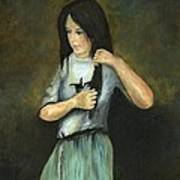 Kristina At 18 Art Print by Cecilia Brendel