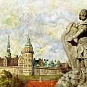 Kronborg Castle Art Print