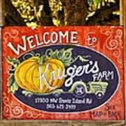 Kruger's Farm Art Print