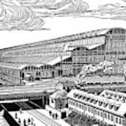 Krupp's Factory, Essen  Machine Shop Ix Art Print