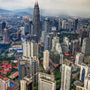 Kuala Lumpur City Art Print