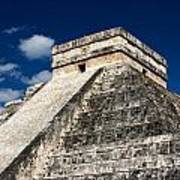 Kukulkan Pyramid At Chichen Itza Art Print