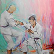 Kumite Art Print