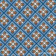 Kurbits Squares Art Print
