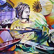Kurt Cobain- It Aint Medicine Kurt Art Print