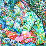 Kurt Cobain Portrait.10 Art Print