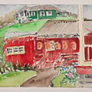 Kwok Hing Society Maui Art Print