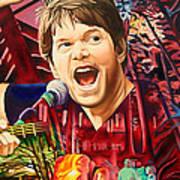 Kyle Hollingsworth At Hornin'gs Hideout Art Print