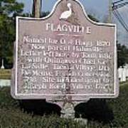 La-021 Flagville Art Print