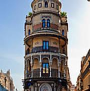 La Adriatica Building, Seville Art Print