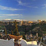 La Alhambra Granada Spain Art Print