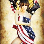 La Americana Print by D H Carter