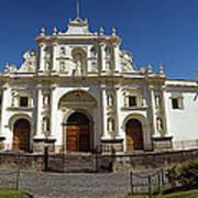 La Antigua Cathedral Art Print
