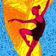 La Ballerina Du Juilliard Art Print