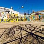 La Boca Graffiti Art Print