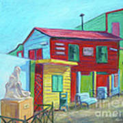 La Boca Morning I Art Print