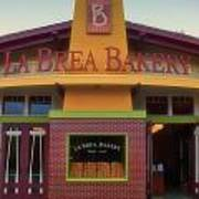 La Brea Bakery Downtown Disneyland Art Print