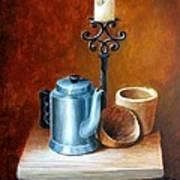 La Cafetera Art Print by Edgar Torres