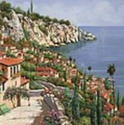 La Costa Print by Guido Borelli