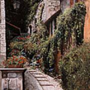 La Fontanella Art Print