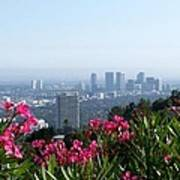 L.a. From Beverly Hills Art Print
