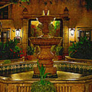 La Fuente At Tlaquepaque Art Print