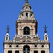 La Giralda Belfry In Seville Art Print