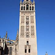 La Giralda Bell Tower In Seville Art Print