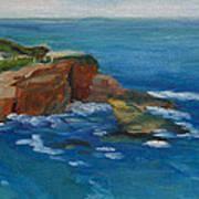 La Jolla Cove 023 Art Print