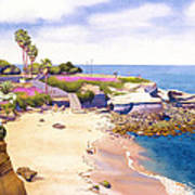La Jolla Cove Art Print by Mary Helmreich