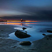 La Jolla Sunset 7 Art Print